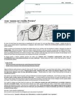 Não 'Basta de Paulo Freire'_Roberto Dalmo