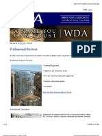 Professional Services - WDALAW