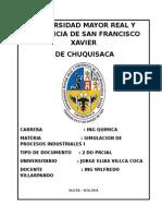 2do Pracial Jorge Elias Villca Coca