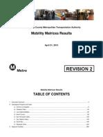 TAC Presentation May 2015 Mobilitymatrice