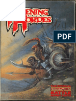 Warhammer Fantasy Battle 2nd Edition - Ravening Hordes (1987)