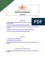 Boletín Informativo RP&GY Abogados - Junio de 2015