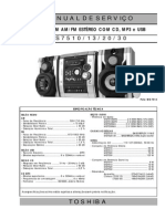 Toshiba MS7510/13/20/30 Manual de Serviço