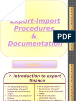 Export Import Process Documentation