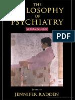 The Philosophy of Psychiatry