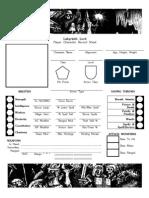 AEC Character Sheet Prototype