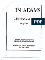 John Adams - China Gates - score