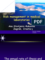 Risk Management in Medical Laboratories