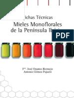 Mieles monoflorales de la Peninsula Ibérica