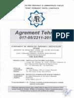 Agrement Tehnic OPR