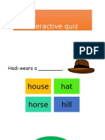 Interactive Quiz