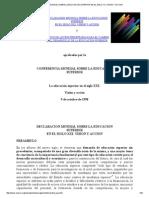 DECLARACION MUNDIAL SOBRE LA EDUCACION SUPERIOR EN EL SIGLO XXI_ VISION Y ACCION.pdf