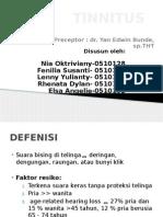 Tinnitus Ppt