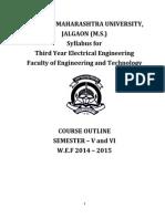 TE Electrical Engineering(CGPA)