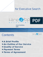 Hire4BPO - Proposal for Executive Search