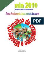 programação de evento infantil