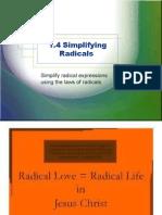 g9l1 4 simplifying radicals