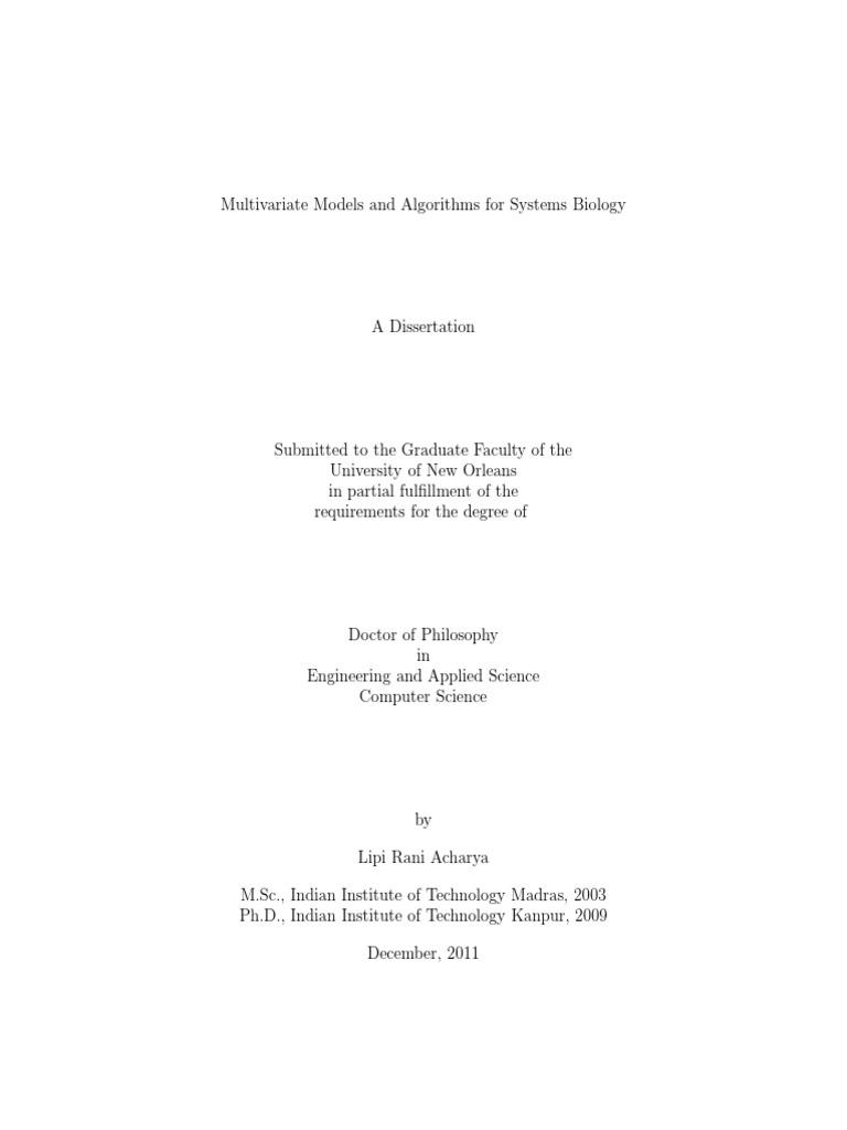 dissertation mhh 2011