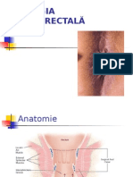 Patologie perianorectala
