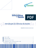 Introdução às Ciências da Saúde
