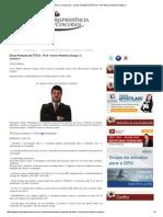 Dicas Pontuais de ÉTICA - Prof. Marco Antonio Araújo Jr
