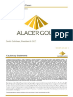 Au - Alacer Gold DQ Diggers Presentation FINAL