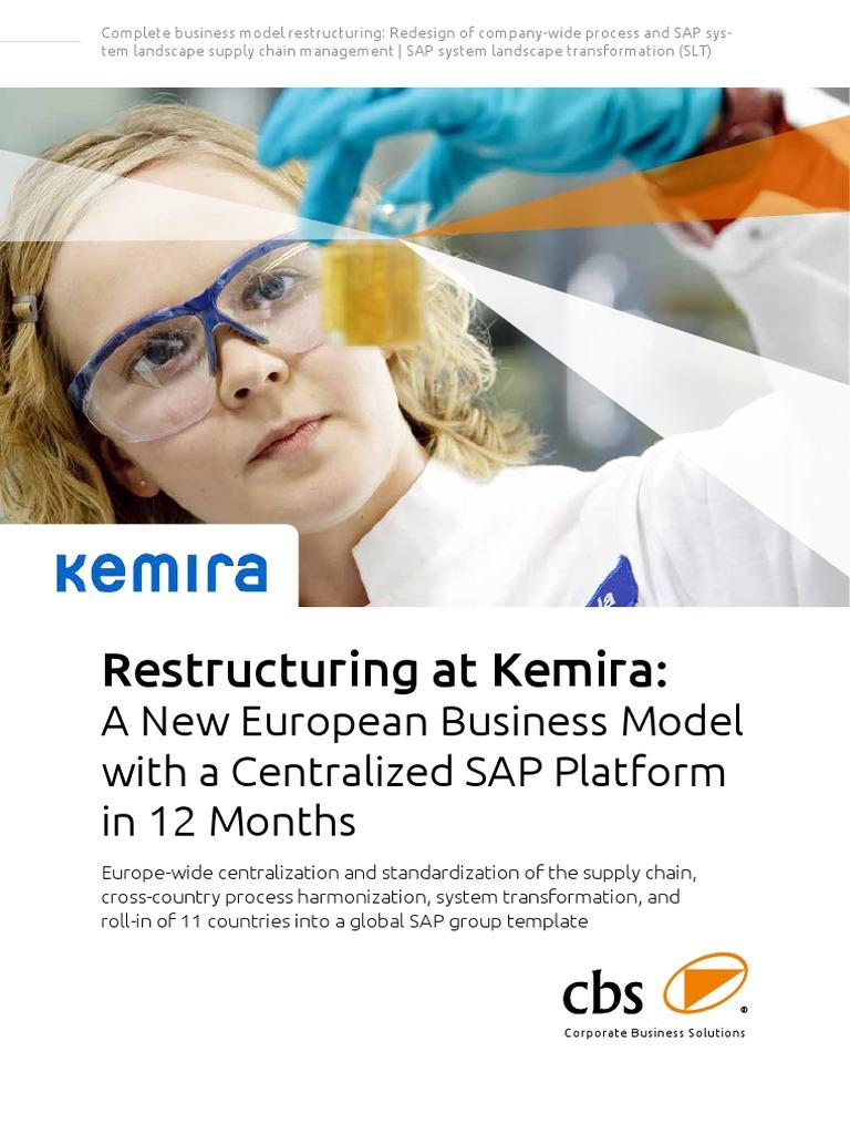 Kemira New Business Model | Sap Se | Business Model