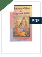 Mantra Jap Mahima Evam Anushthan Vidhi - SYVSS
