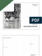Deodendron. Arboles y Arbustos 1