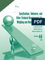 NIST Handbook 44 2014 (Final)