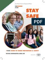 Stay Safe Booklet