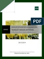 Guia de estudio II 2013-2014 Medios y técnicas UNED