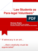 Role of Law Students as Para-legal Volunteers.pptx