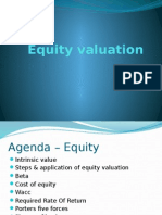 Equity Valuation by Fm Group