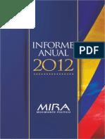 INFORME CONSOLIDADO 2012