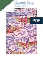 Album decorativ floral - vol.1 de  Elena Stanescu-Batrinescu