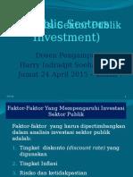 investasi Sektor Publik  7