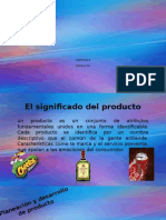 Marketing Significado de Producto