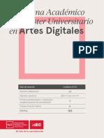 14 15 Programa Academico Master Uni Artes Digitales