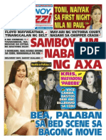 Pinoy Paarazzi Vol 8 Issue 84 July 08 - 09, 2015