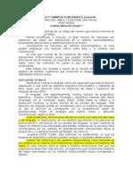 Dislalia Y CAMBIOS FUNCIONALES Orofacial (Traducción)