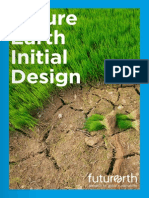 2013 - Future Earth Initial Design Report