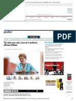 'Eu Não Vou Cair, Isso Aí é Moleza', Afirma Dilma - 07-07-2015 - Poder - Folha de S.paulo
