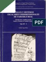 Señales y sistemas escalares unidimensionales de variable real