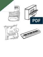 Dibujos de Piano