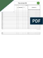 Plano de Ação CIPA Modelo