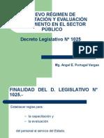 Capacitación, Evaluación y Rendimiento - Mag. Angel Portugal