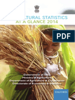 Agricultural Statistics at Glance2014