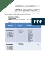 Farmacologie Generala Si Farmacoterapie Licenta
