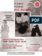 08/2015 Aikido Seminar Montevideo